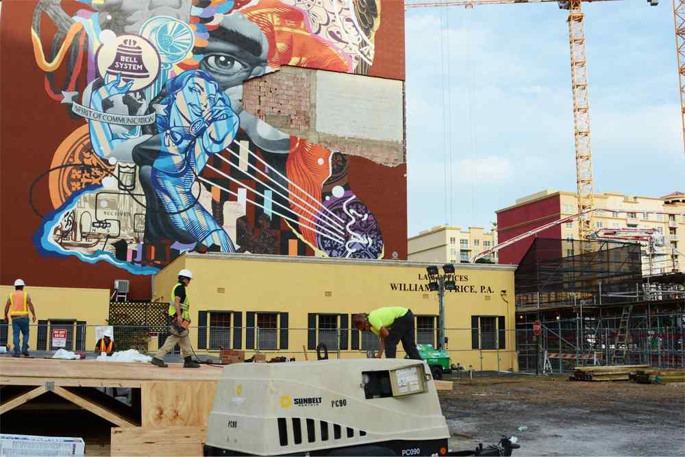 Alexander Lofts Wall Repair