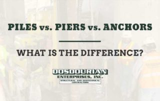 Piles vs. Piers vs. Anchors - What is the Difference?
