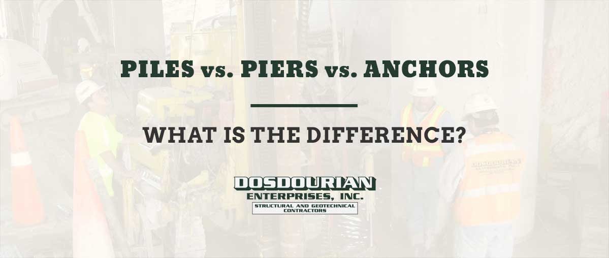 Piles vs  Piers vs  Anchors - What is the Difference? | FixDirt